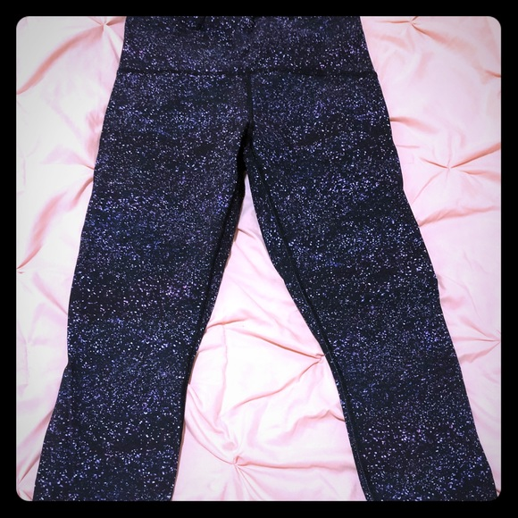 18c0d1e2fb97e lululemon athletica Pants | Lululemon Galaxy Print Leggings | Poshmark